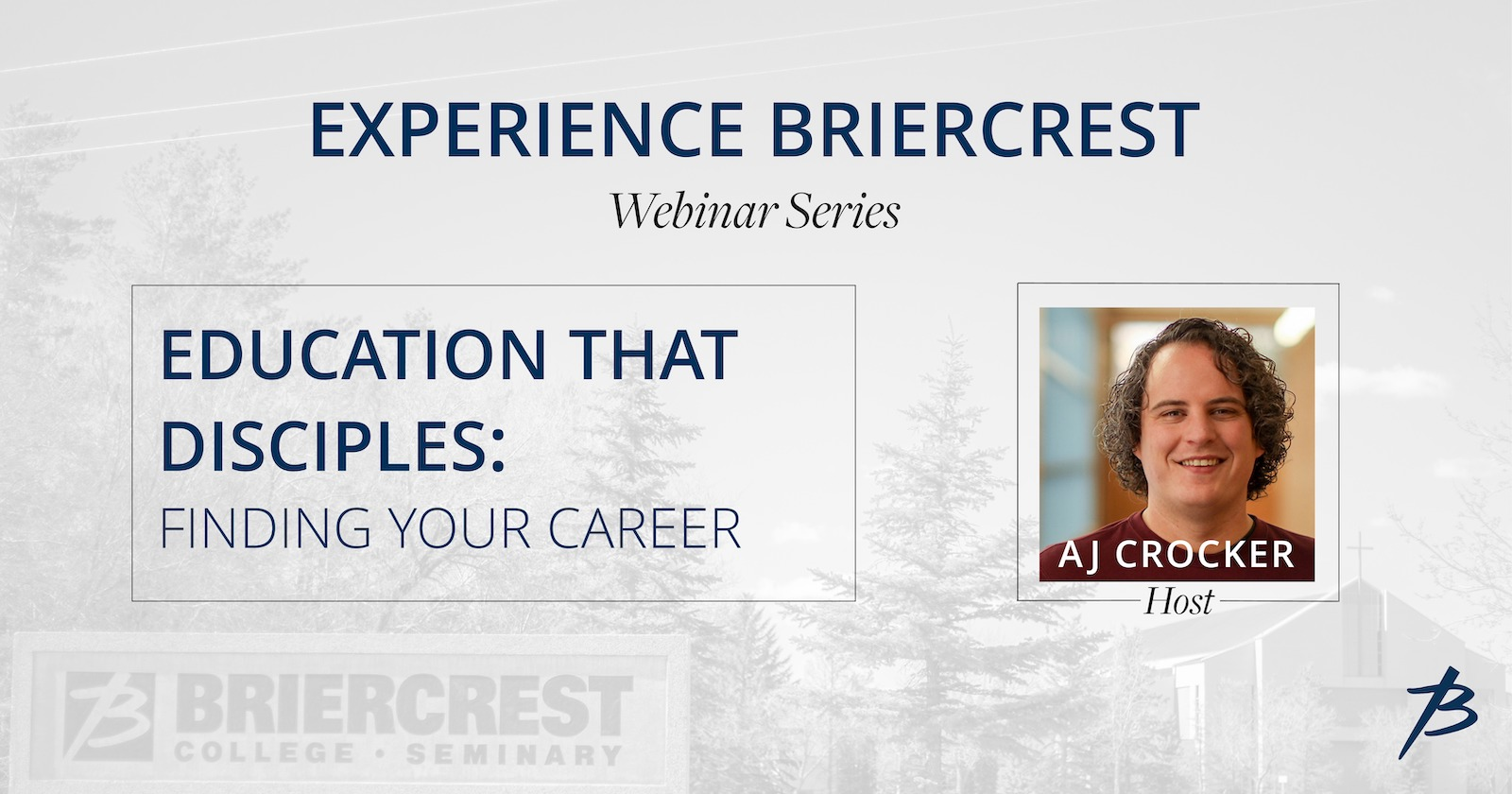 WEBINAR: Learn about how Briercrest can help you prepare for your career.