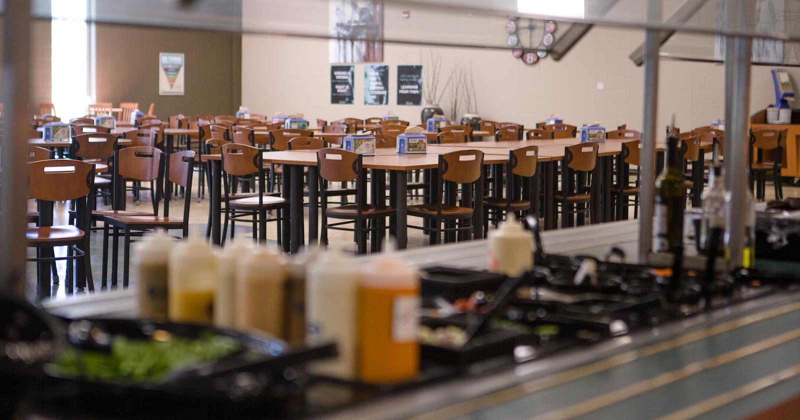 Briercrest's cafeteria